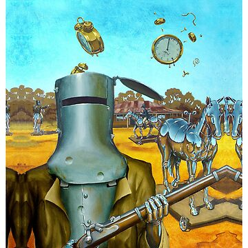 Ned Kelly, the Last Stand by roboroo