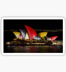 Night Sails - Sydney Opera House - Sydney Vivid Festival Sticker