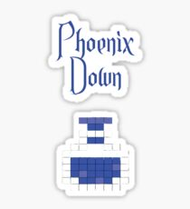 Phoenix Down Sticker