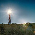 cape hatteras lighthouse by ALEX GRICHENKO