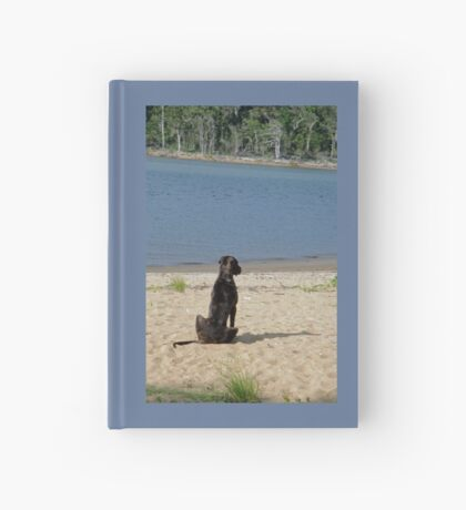 Watching Out to Sea Hardcover Journal