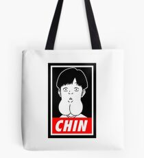Chin Boy Tote Bag