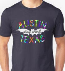 Austin Stay Weird Texas  Slim Fit T-Shirt
