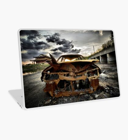 Strained Relations Laptop Skin