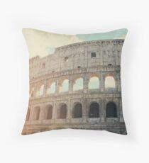 Roma - Coliseum Throw Pillow