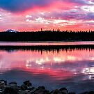 Elk Lake Sunrise 2 by Richard Bozarth