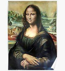 Monna Lisa after Leonardo da Vinci Poster