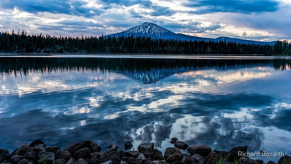 Elk Lake Sunrise 5 by Richard Bozarth