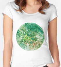 Neuron - Watercoulor - New Colour!! Women's Fitted Scoop T-Shirt