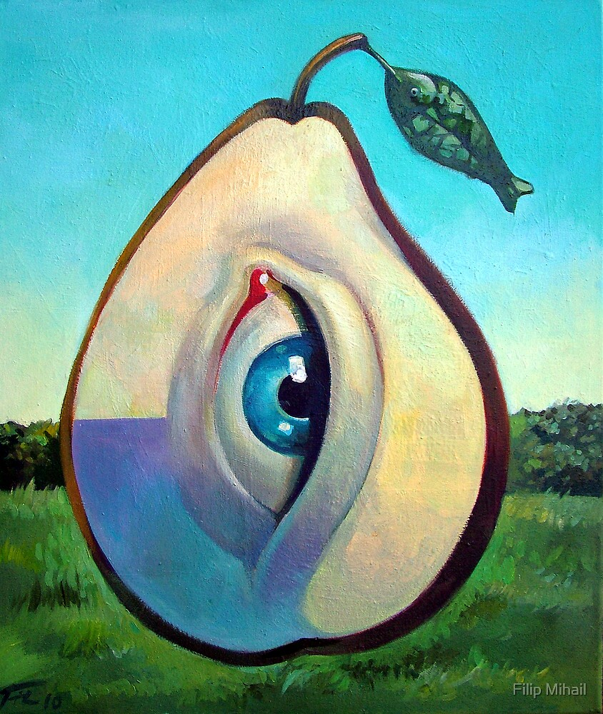 Seeing Pear by Filip Mihail