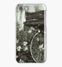 Bike with a Basket iPhone Case/Skin