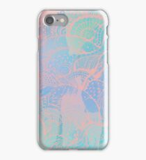 Abstract pastels color pattern iPhone Case/Skin