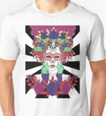 Colorful Day of the Dead Women Unisex T-Shirt