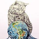 Our feline deity shows restraint by jamesormiston