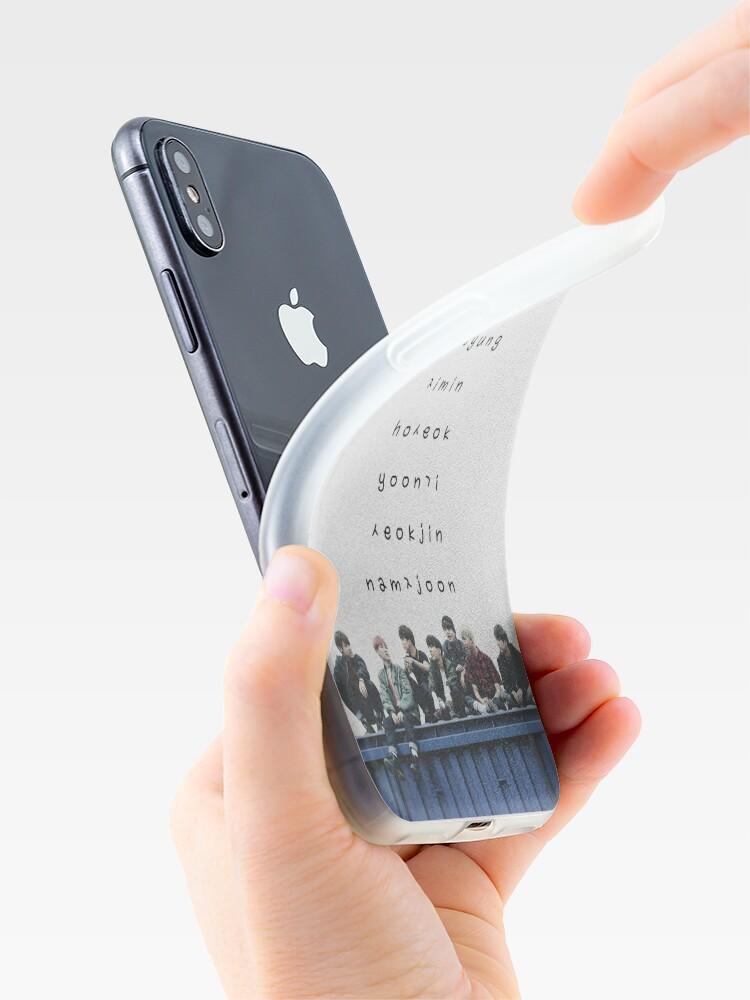 Vista alternativa de Vinilos y fundas para iPhone Estuche para teléfono BTS n. ° 12