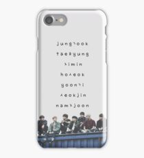 BTS phone case #12 iPhone Case/Skin