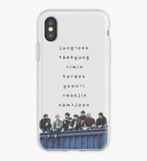 Vinilo o funda para iPhone Estuche para teléfono BTS n. ° 12