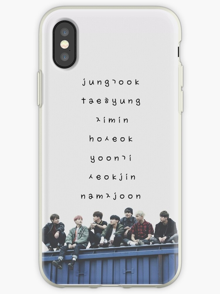 brand new 2a33a 27f31 'BTS phone case #12' iPhone Case by parkjimin