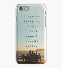 BTS phone case iPhone Case/Skin