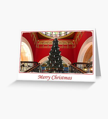 QVB, Sydney Greeting Card