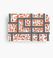 City maps Canvas Print