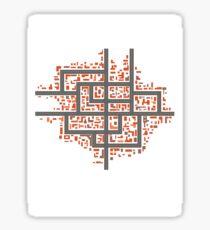 City maps Sticker
