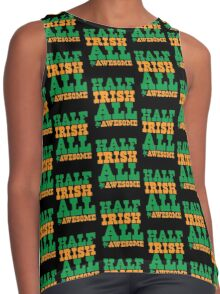Half Irish - All AWESOME Contrast Tank