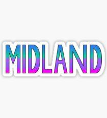 Midland Sticker