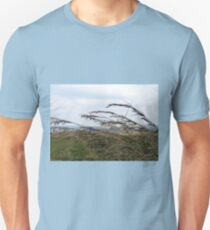 Grass grows in silence Unisex T-Shirt