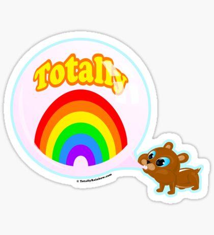 Bubble Gum Bandit! Sticker