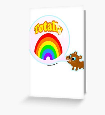 Bubble Gum Bandit! Greeting Card