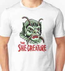 The SHE-CREATURE!!! Unisex T-Shirt