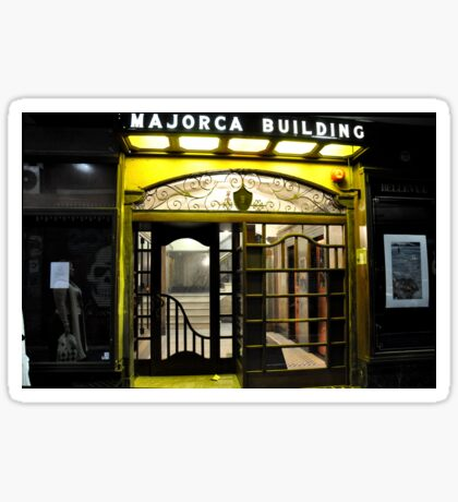 Majorca Building Sticker
