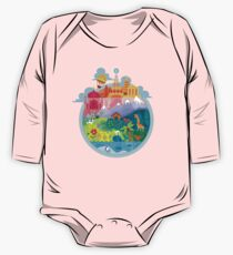 Small World One Piece - Long Sleeve