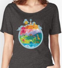 Small World Women's Relaxed Fit T-Shirt