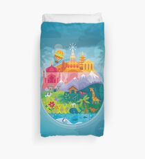 Small World Duvet Cover
