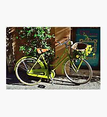 Green Cruiser Photographic Print