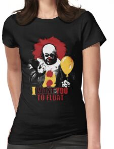 I Want You to Float Womens Fitted T-Shirt
