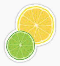 Lemon Lime Vector Sticker