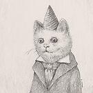 Birthday Kitty by Betsy Streeter