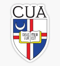 CUA Logo Sticker