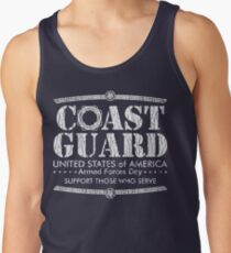 Armed Forces Day - Coast Guard White Tank Top