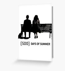 (500) Days of Summer Greeting Card