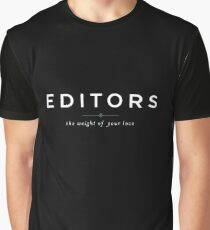 EDITORS // the weight of your love Graphic T-Shirt