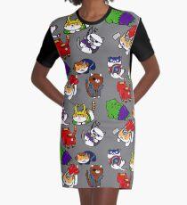 Atsume Assemble Graphic T-Shirt Dress