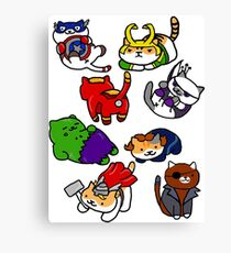 Atsume Assemble Canvas Print