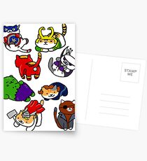 Atsume Assemble Postcards