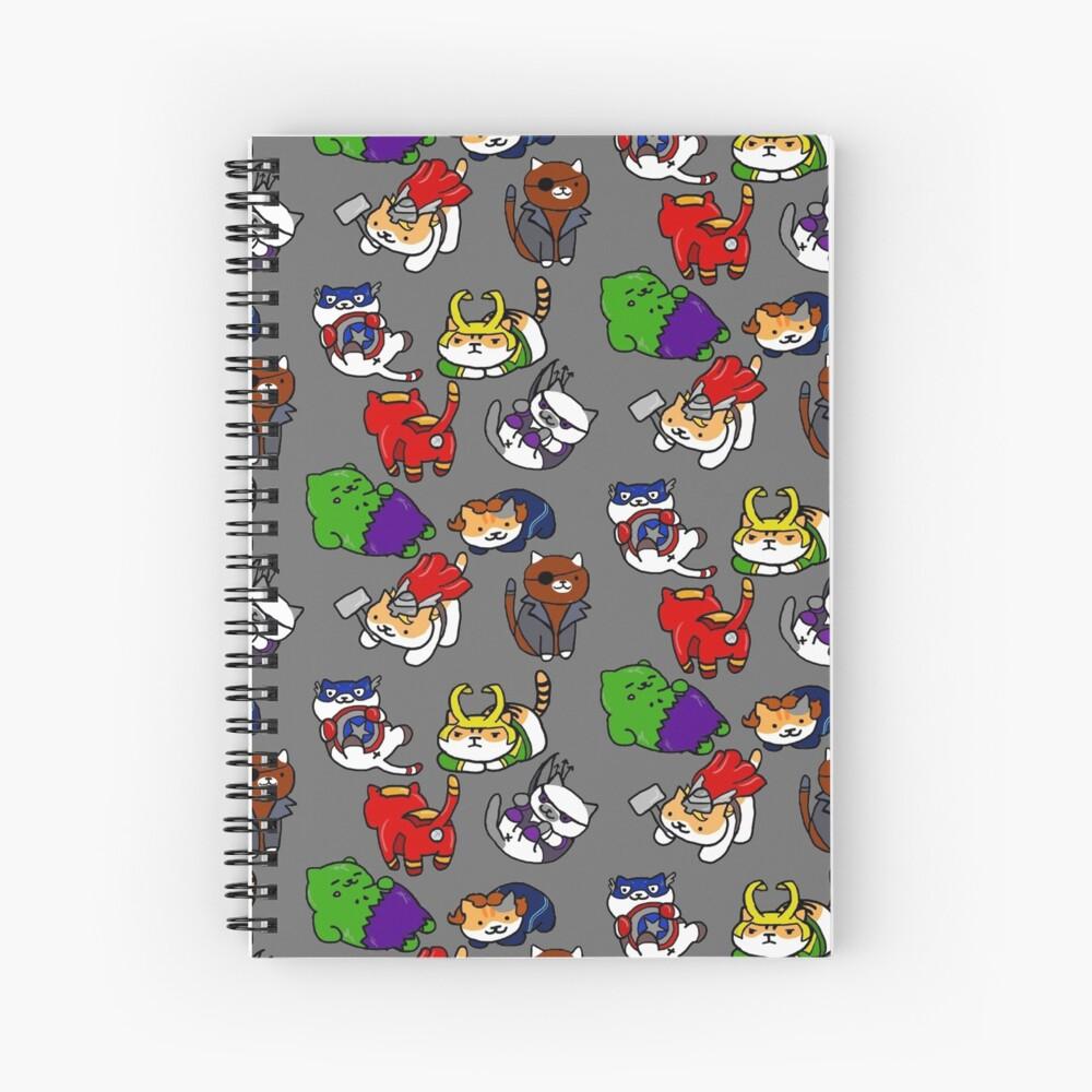Atsume Assemble Spiral Notebook