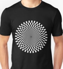Op Art - Black and White Unisex T-Shirt
