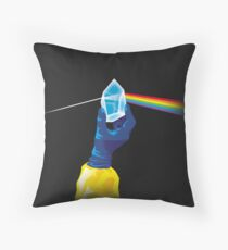 The Dark Side of the Meth (no tag) Throw Pillow